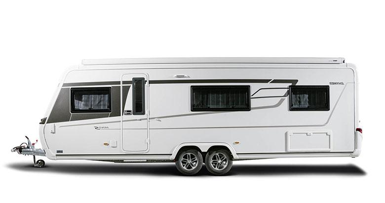 Modelreihe Wohnwagen