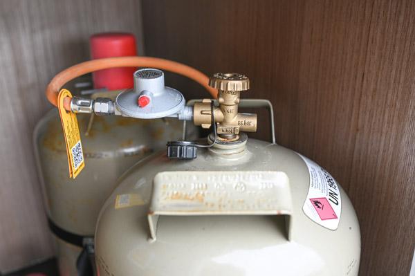Gasflaschen-autark