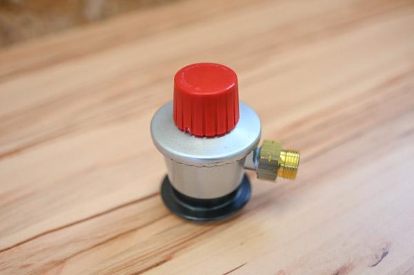 Gasflaschenadapter-autark