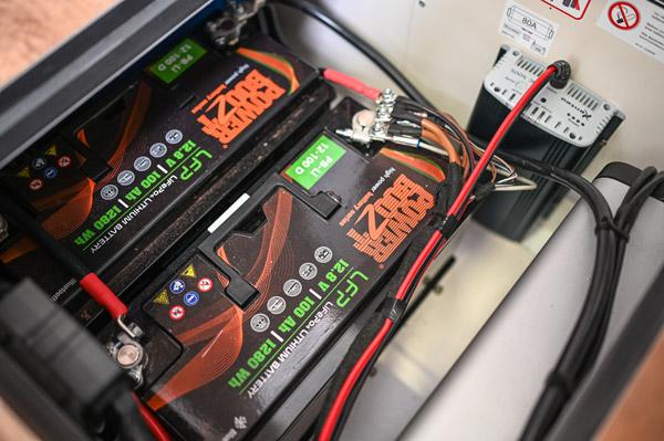 Lithium-Batterie-Wohnmobil