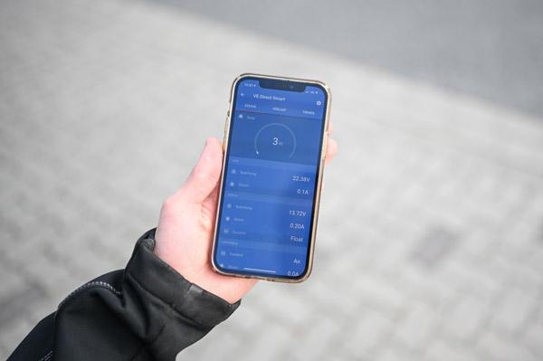 solaranlage-App-wohnmobil